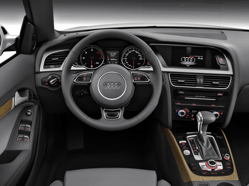 Audi A5 Cabriolet фото салона