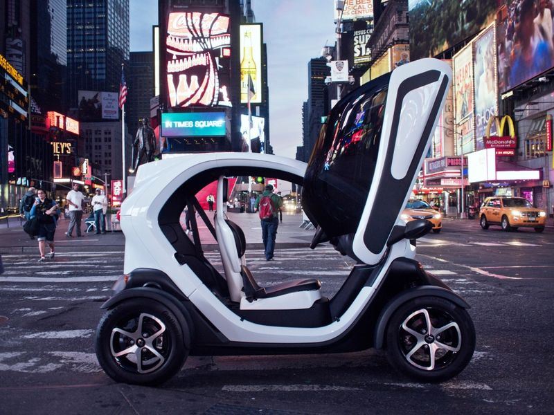 Renault Twizy фото салона