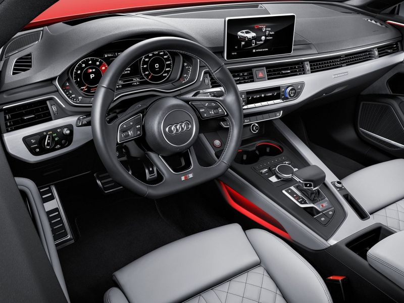 Audi S5 Coupe фото салона
