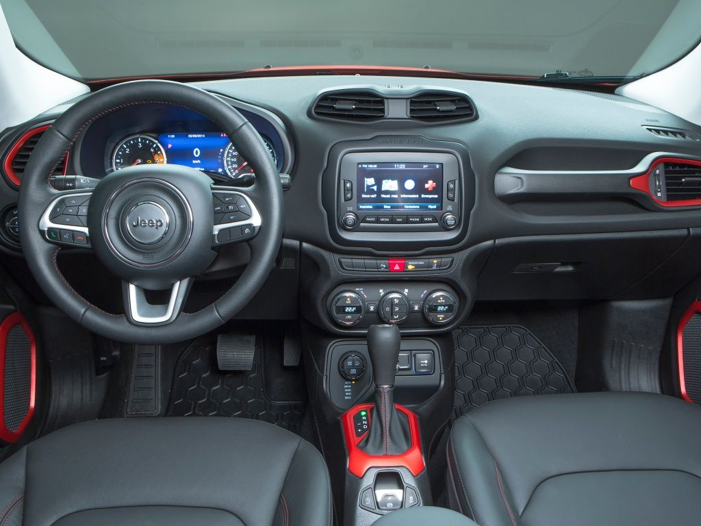 Jeep Renegade фото салона