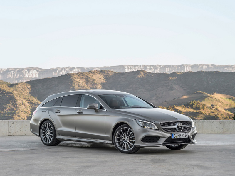 Mercedes CLS Shooting Brake 2012 года фото автомобиля